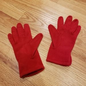 Gap Red Fleece Gloves